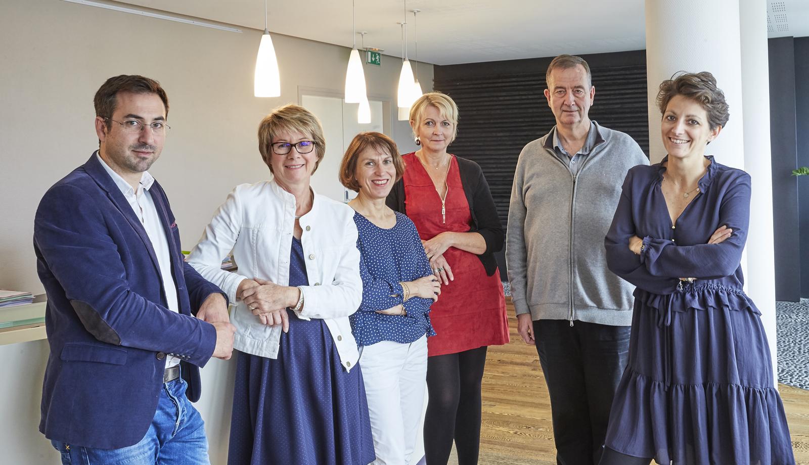 Image de groupe du cabinet MDM Avocats